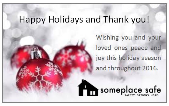 Happy Holidays And Thanks To All >> Happy Holidays And Thank You From Someplace Safe Someplace