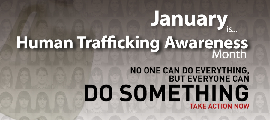 Image result for national human trafficking awareness month